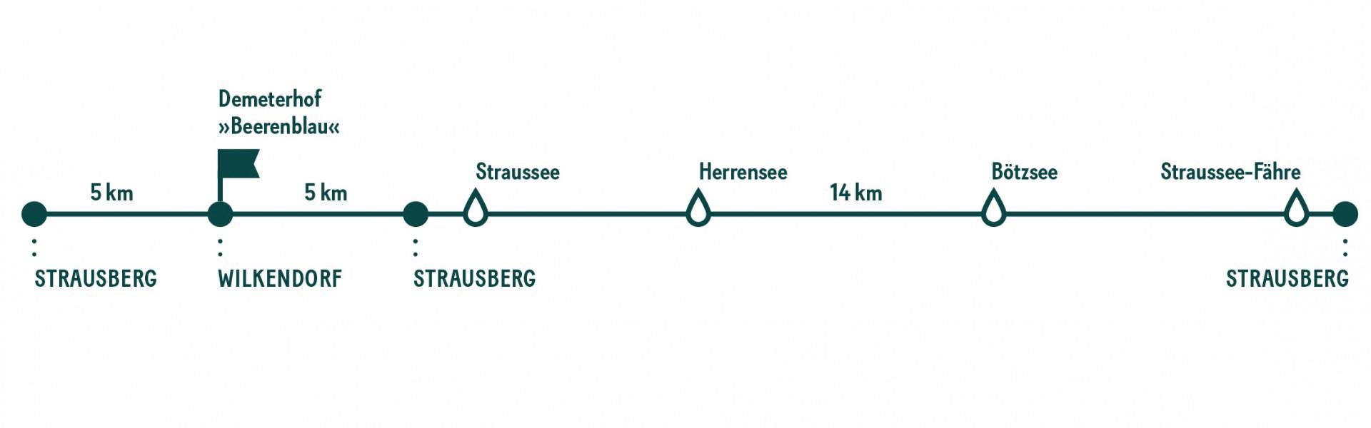 Milch & Moos · Vom Wandern und vom guten Essen · Brandenburg, Berlin August · Wanderung Strausberg, Heidelbeeren, Brieftauben