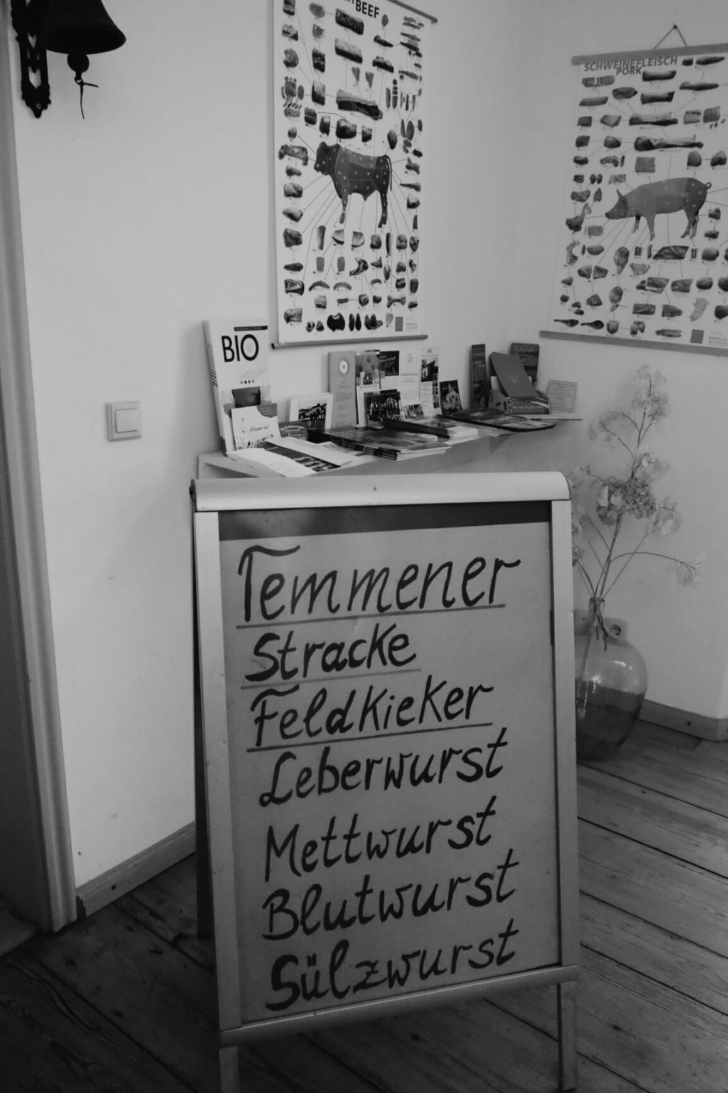 Milch & Moos · Vom Wandern und vom guten Essen · Brandenburg, Berlin November · Wanderung Uckermark, Temmen, Wurst