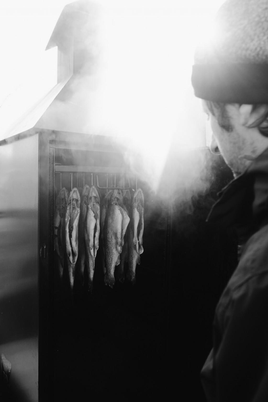 Milch & Moos · Vom Wandern und vom guten Essen · Brandenburg, Berlin März · Wanderung Gerswalde, Räucherfisch